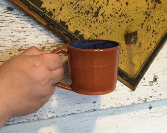 Hand thrown ceramic mug