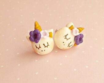 Unicorn Earrings - Unicorn Stud Earrings - Kids Earrings - Cute Earrings - Unicorn Gifts -