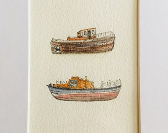 Reykjavik Fishing Boats