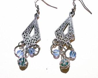 Blue Love Earring