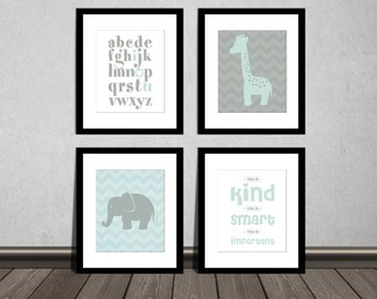 The Help Movie. You is kind, You is smart, You is Important, ABC alphabet, Elephant and Giraffe. Downloadable. Print it yourself.