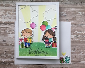 Party Time! Happy Birthday Card!