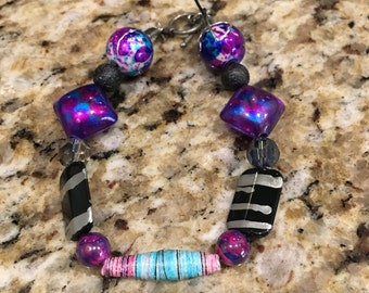 Beaded Bracelet with a clasp