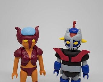 Toy Robots Mazinger Z Aphrodite A  playmobil custom