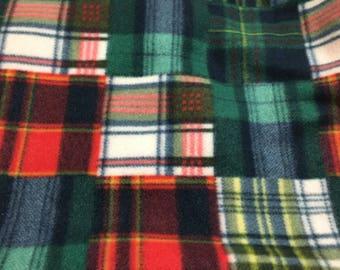 Green Plaid Blanket