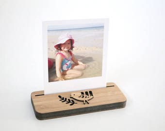 Photo Stands - Mini - Little Birdy - Display your Instagram photos, picture holder, photo frame