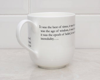 Tale of two cities Literary Giant Bone china cup