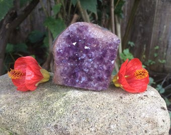 Amethyst Crystal Geode from Uruguay - AA Quality Amethyst Crystals