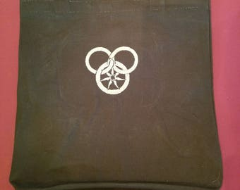 Wheel of Time Canvas Tote Bag