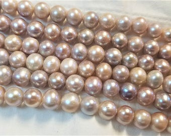 Gorgeous AA pearls 10mm Ivory Cultured pearl