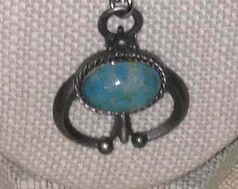 Vintage Pewter Necklace