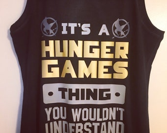It's a Hunger Games thing...