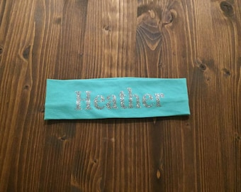 PRINT cotton knit headband custom-12 Colors