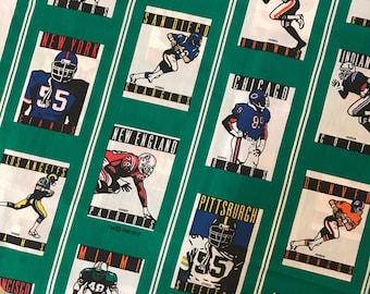 Vintage 1989 NFL Single Pannel Curtain