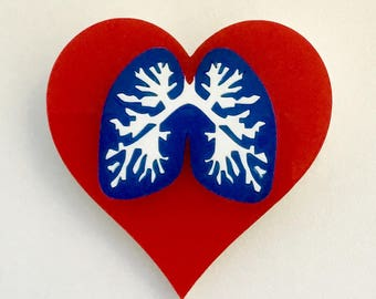 Lovely Lungs Brooch