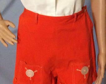 B/4Teens California Vintage Pin up shorts, shorts, rockabilly , 60s vibe, retro