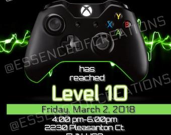 Xbox Game Invite