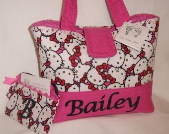 Personalize Hello Kitty Little Girls Handbag