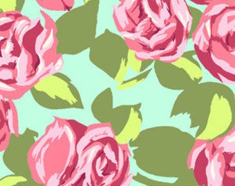 Amy Butler - Tumble Roses in Pink - Love Collection
