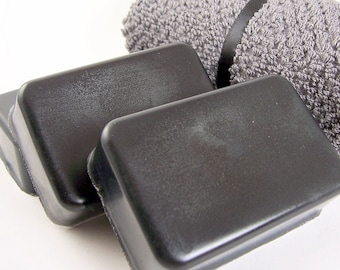 Tea Tree and Activated Charcoal Facial Soaps, All Natural Soap Bar