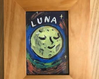 Luna painting