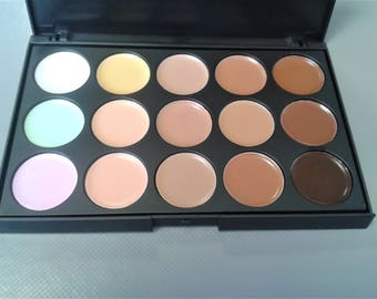 Concealer Palette Cream, Makeup Foundation, Face Foundation