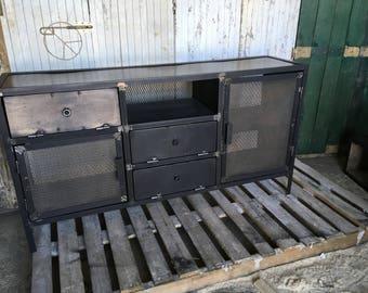 Buffet Cabinet industrial steel