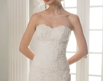 Wedding dress wedding dresses wedding dress DONNA Mermaid Mermaid dress plain