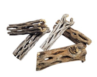 """3"""" Cholla Wood for Freshwater Shrimp and ALL Aquariums And Terrariums"""