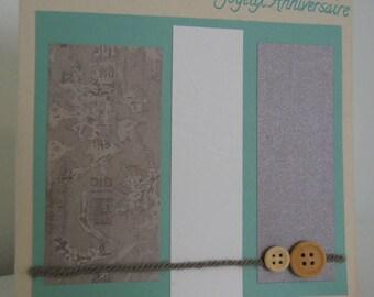 Single card - happy birthday - 10004