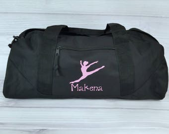 Personalized BALLET / CONTEMPORARY LARGE Duffel Bag. dance team, dance bag, ballet bag, dance gift, personalized duffel bag, duffel bag
