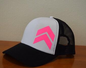Women's Chevron Snapback Trucker Hat