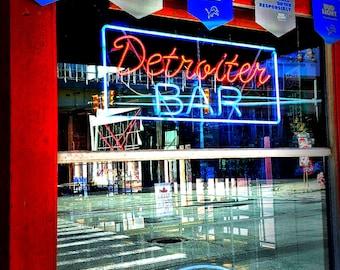 The historic Detroiter bar in Bricktowne
