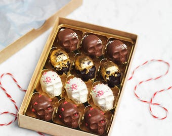 Chocolate Truffle Skull Collection