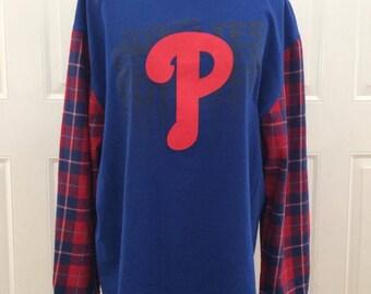 Philadelphia Phillies Flannel T-shirt