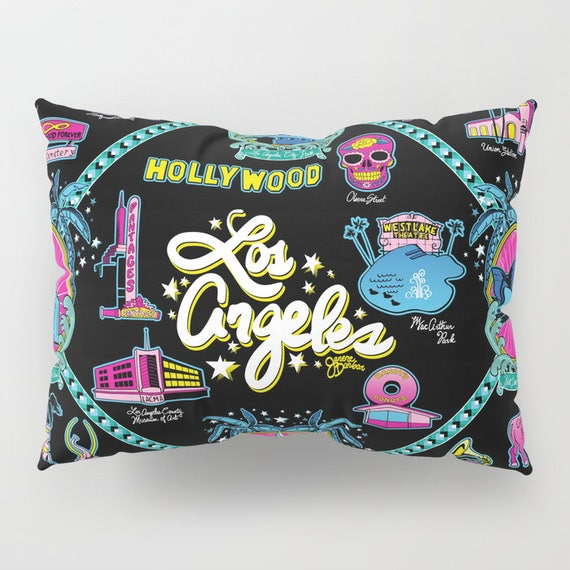 Welcome to Los Angeles! Pillow Shams