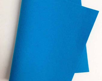 "8"" x 12"" Turquoise Merino Wool Felt"