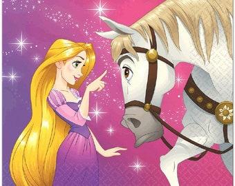 Tangled/Rapunzel ''Dream Big'' Luncheon Paper Napkins 16ct