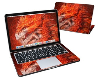 MacBook Skin - Flame Dragon by Kerem Beyit - Vinyl Decal Sticker Cover - Fits Pro, Air, 11in, 12in, 13in, 15in, 17in