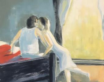 MAKING UP, Sensual, Dreamy, Romantic, Love Scene