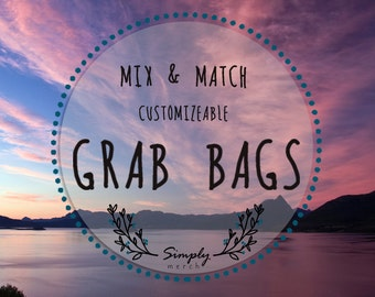 Grab Bags (Pins & Stickers)