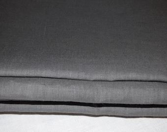 Dark grey color linen coupon