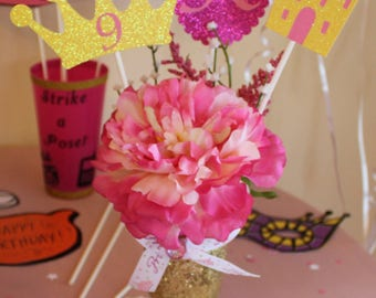 Princess Birthday Decoration - Centerpiece Bouquet