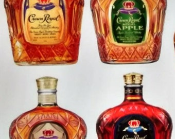 Handmade Crown Royal Salt and Pepper Shakers FREE SHIPPING