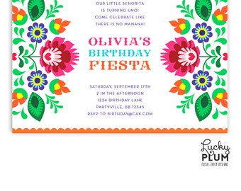 Cinco De Mayo Invite Fiesta Baby Shower Invitation Mexican