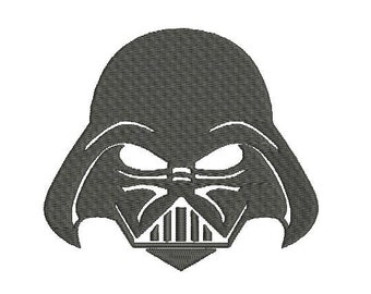 6 sizes - Darth Vader Embroidery Design, Star Wars Embroidery Design, Empire Embroidery Design, Instant Download, Galactic Wars