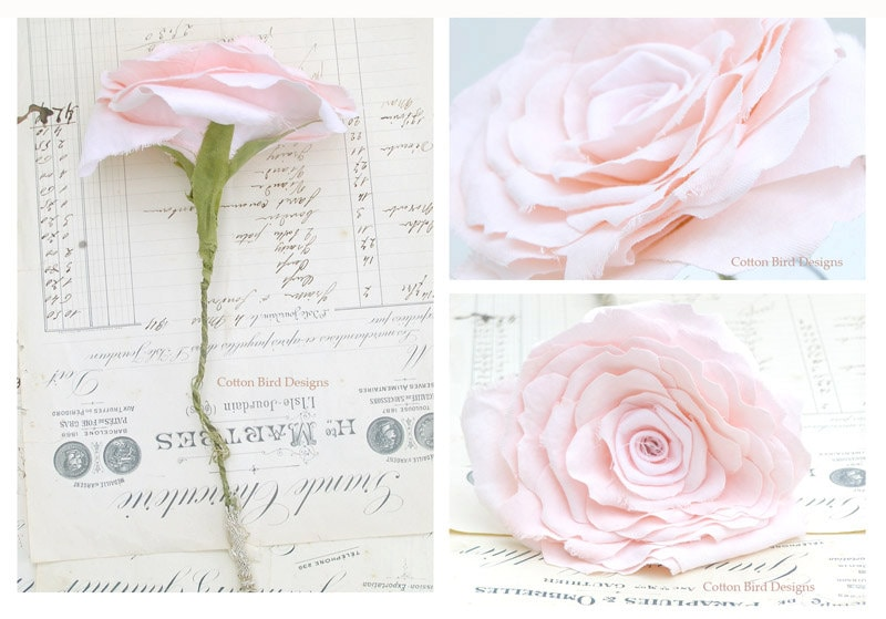 Cotton Wedding Anniversary Gifts For Her: 2nd Anniversary Pink Cotton Flower Gift For Her Wife