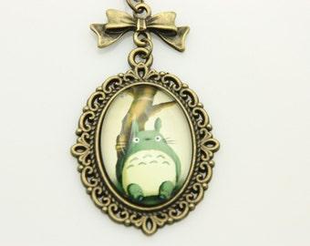 My neighbor totoro, Totoro Necklace, Totoro Pendant, Totoro Jewelry