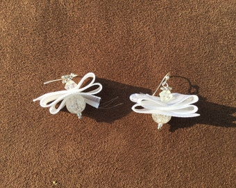 Angel Ribbon Earrings