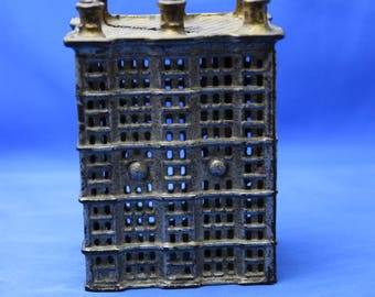 Cast iron antique still bank